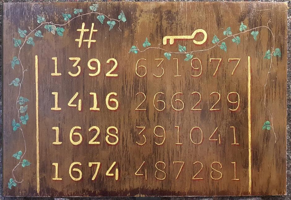 NøglekortKoder med Bladslyng